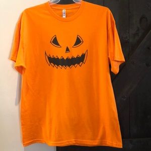 💎2 for $15 JACK O LANTERN FACE HALLOWEEN shirt